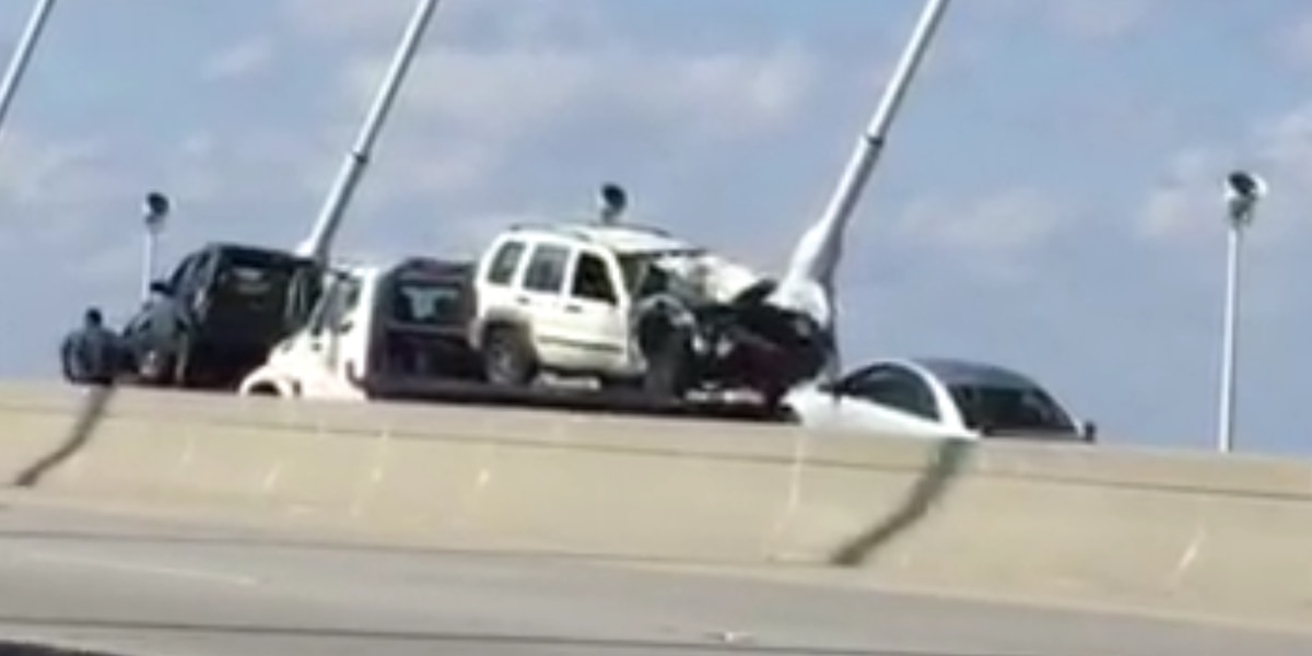FIRST ALERT TRAFFIC: Lanes opened on Ravenel Bridge after multi-vehicle wreck cleared