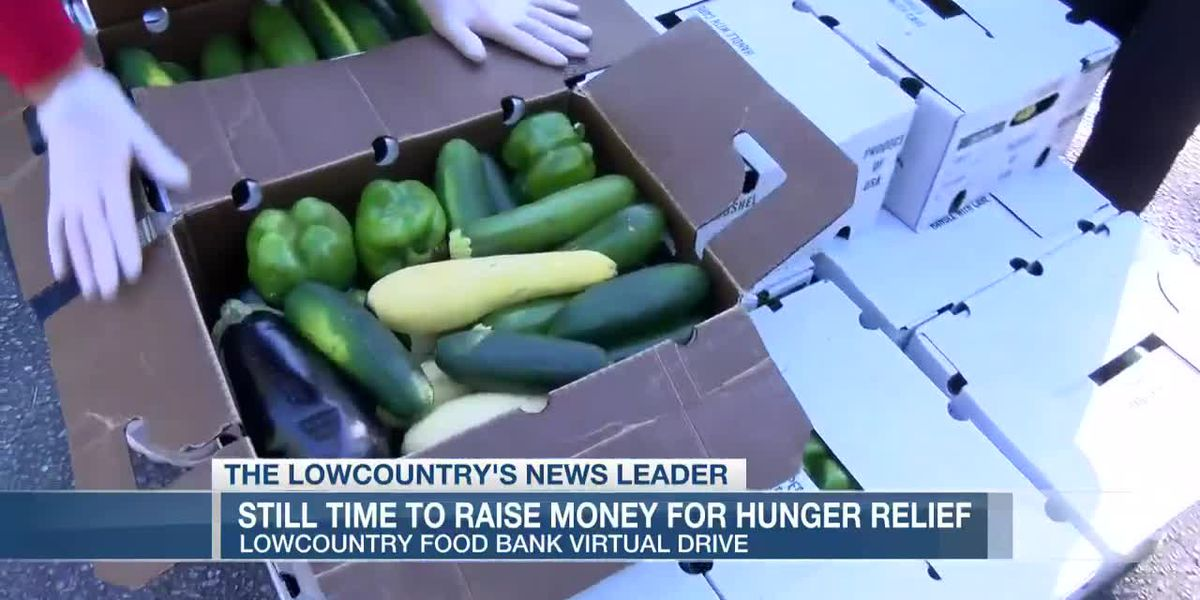 VIDEO: Lowcountry Food Bank food relief fund drive surpasses goal