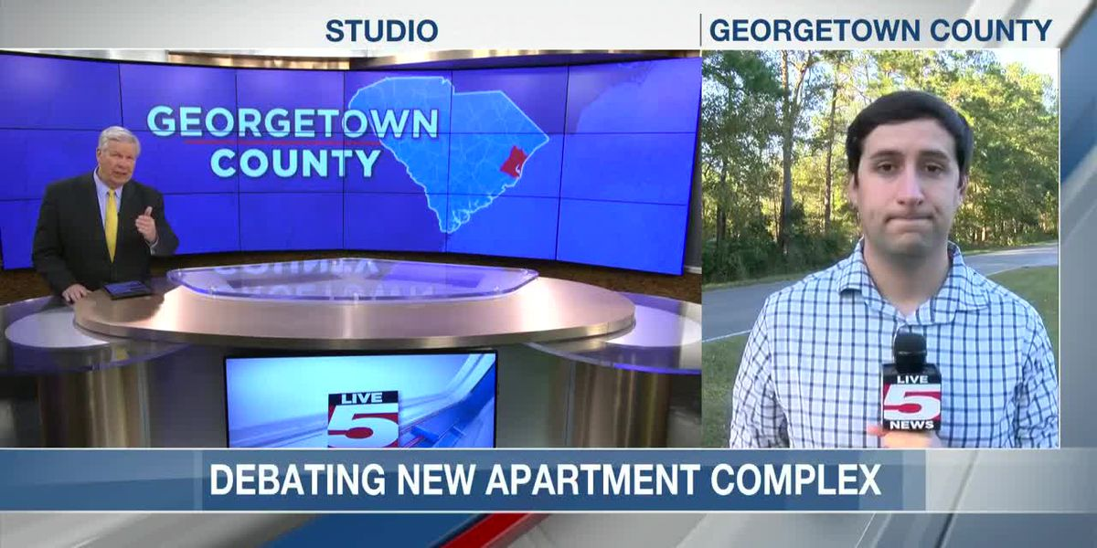 VIDEO: Residents upset with plan to build 182-unit apartment complex on Pawleys Island