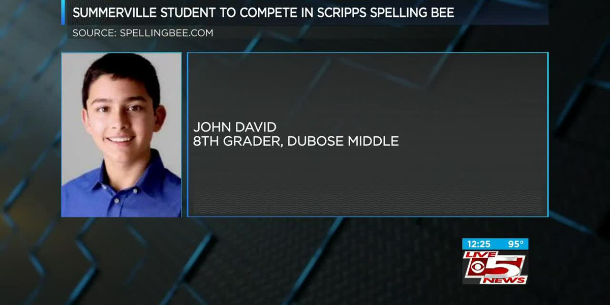 VIDEO: Lowcountry teen participating in National Spelling Bee this week