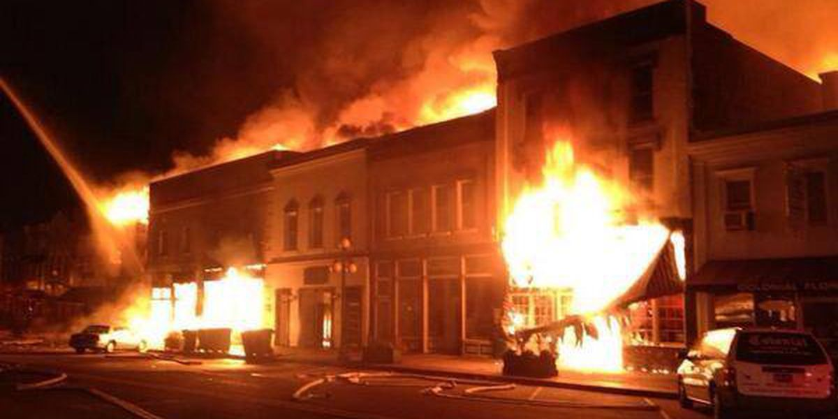 Friday marks 2-year anniversary of Front Street fire in Georgetown