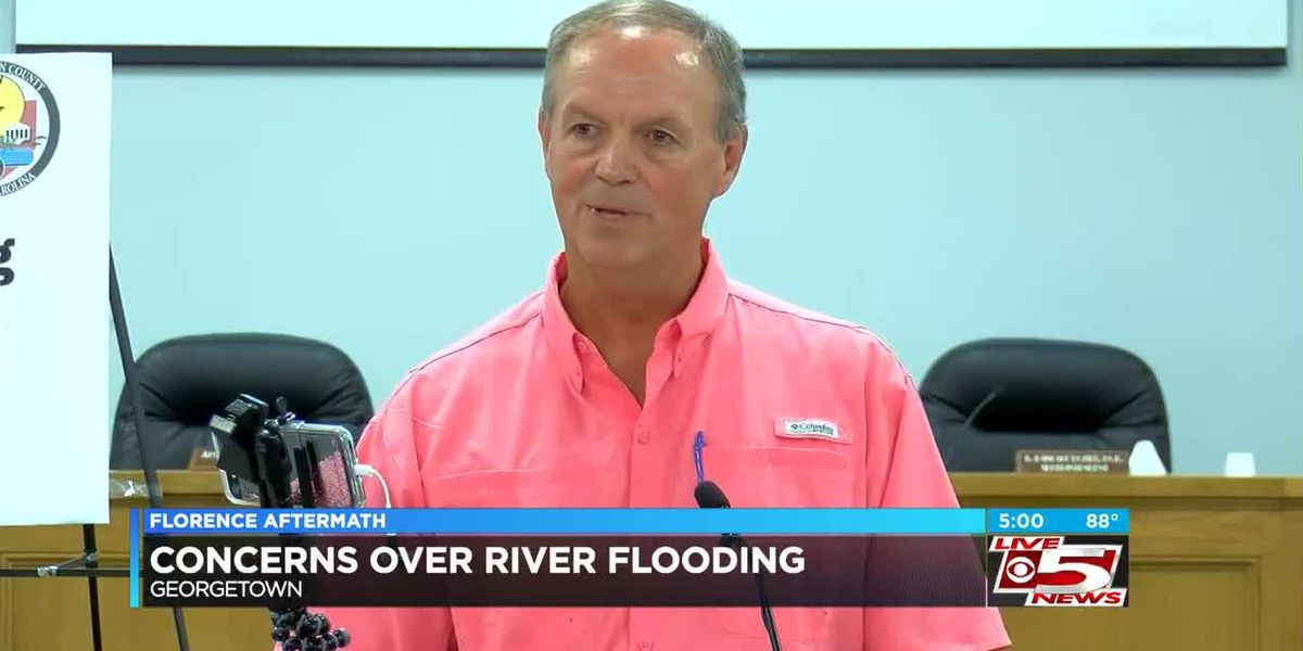 VIDEO: Georgetown Co. officials expect flooding to displace 6,000-8,000 next week