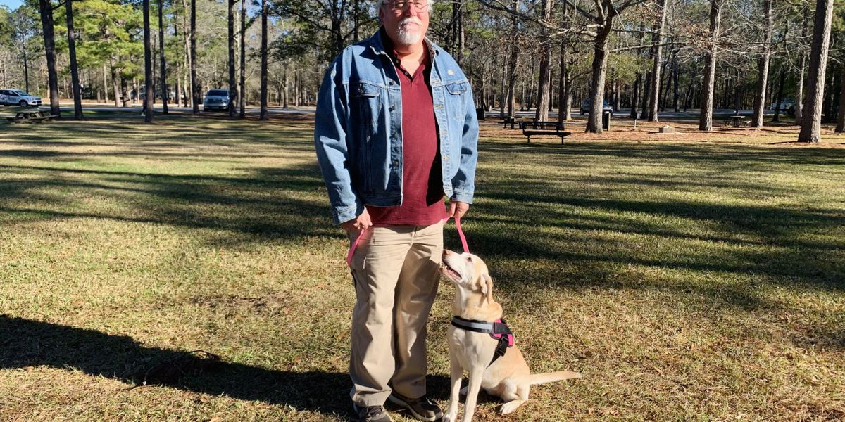 Dog reunites with original owner in Goose Creek four years after separation