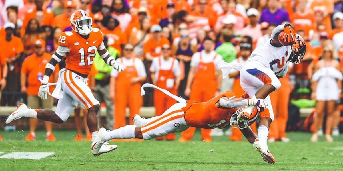 Etienne, Clemson defense pace Tigers past Orange in thriller