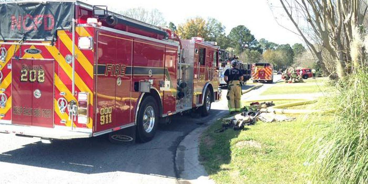NCFD: Family of 2 escapes duplex fire
