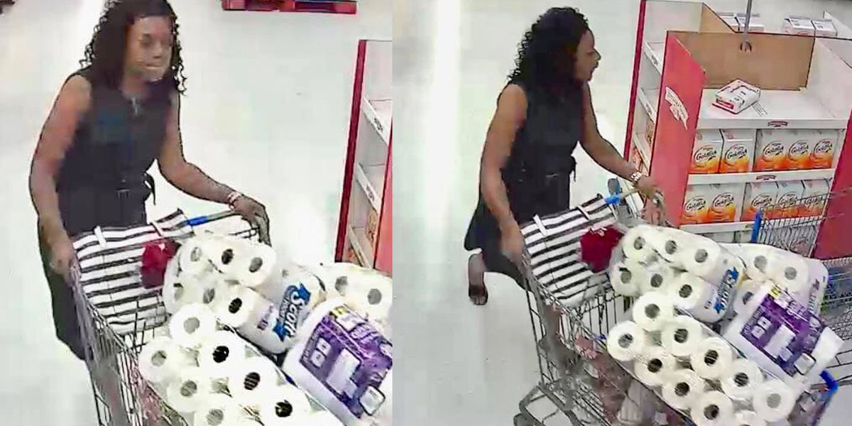 WANTED: Woman allegedly stole over $700 in vodka, toilet paper