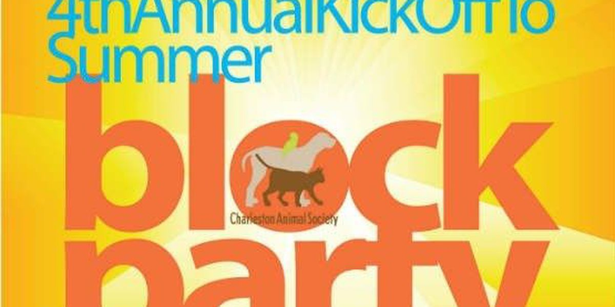Block party for pets to benefit Charleston Animal Society