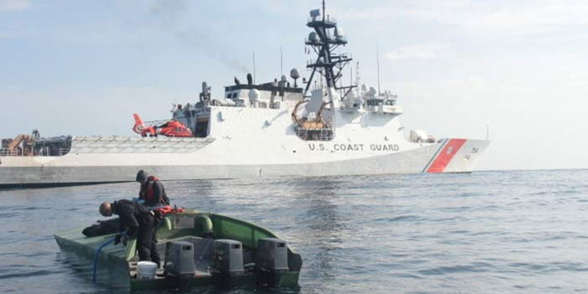 Coast Guard Cutter James returns after 75-day counter-drug patrol