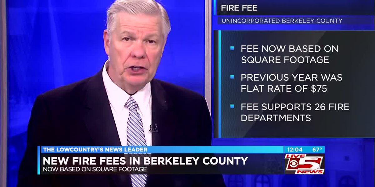 VIDEO: New Berkeley County fire fees going into effect