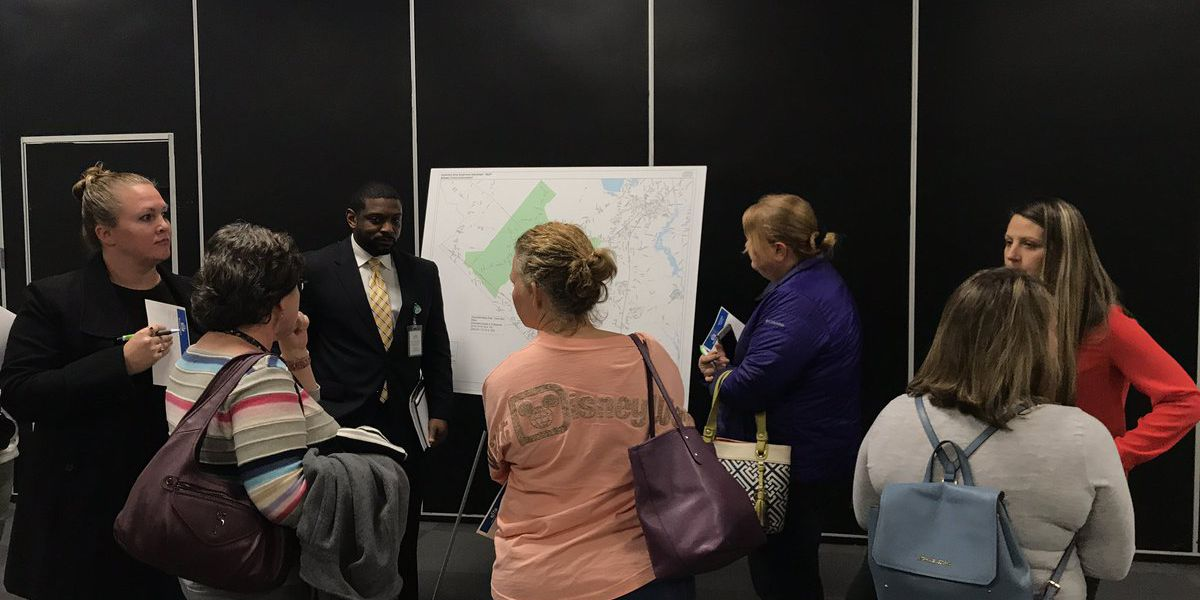Berkeley County holds first public meeting about school attendance lines