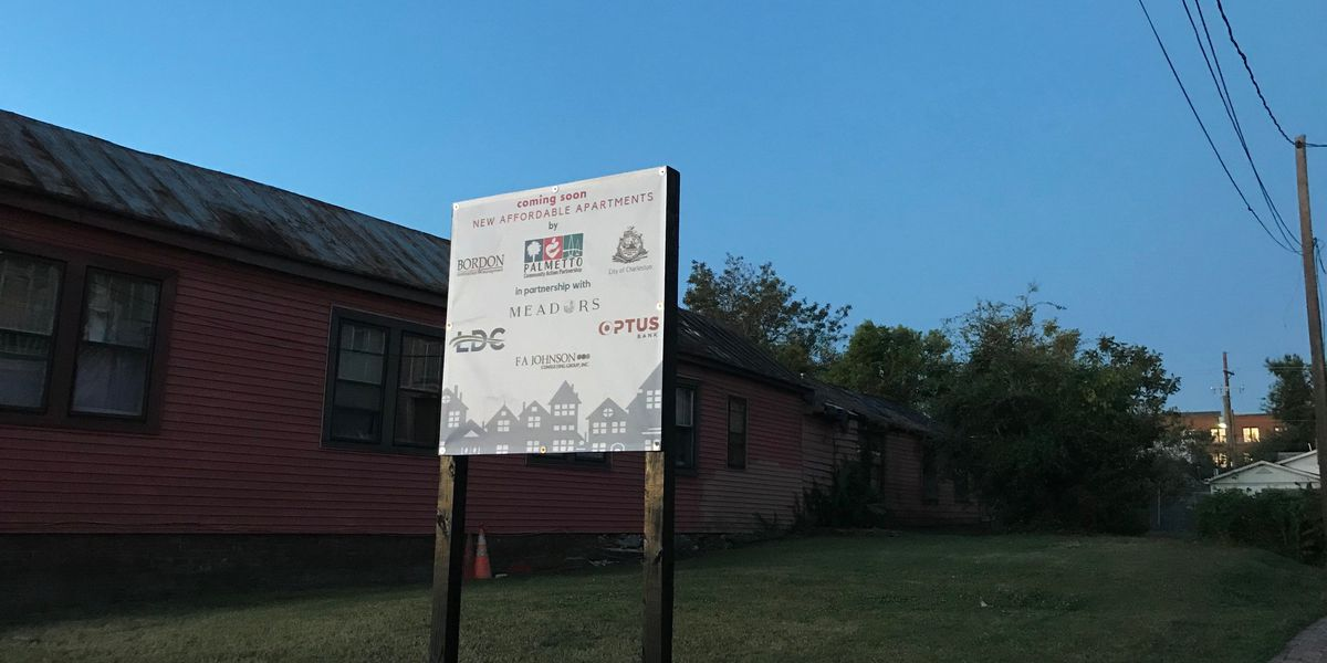 City of Charleston breaking ground on affordable housing project