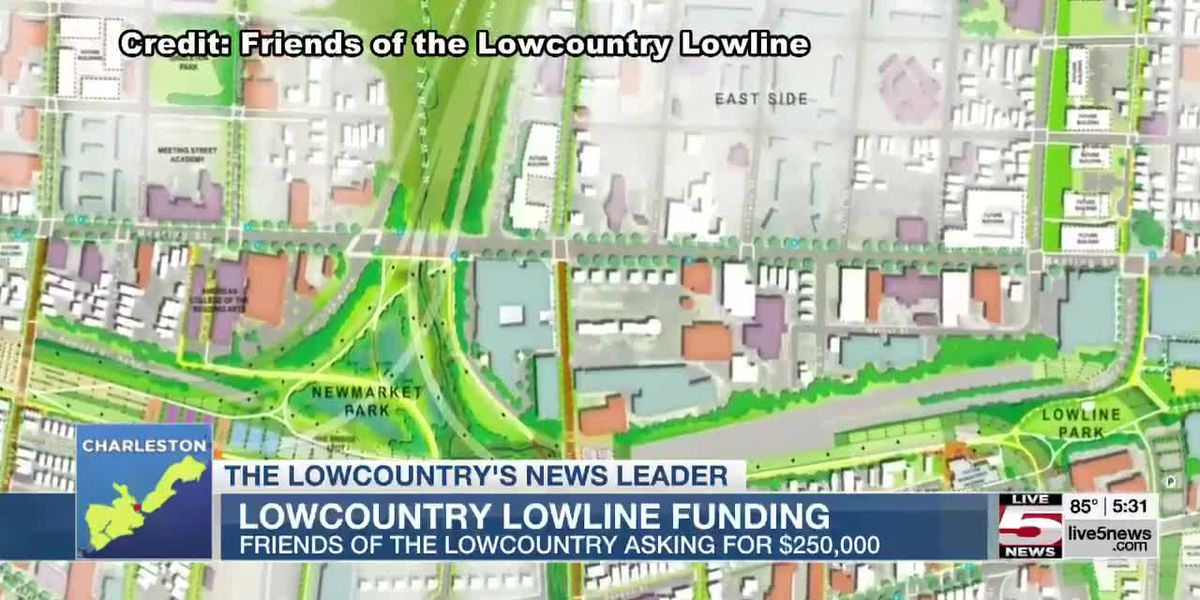 VIDEO: Charleston City Council to consider $250K for planning on Lowcountry Lowline Project