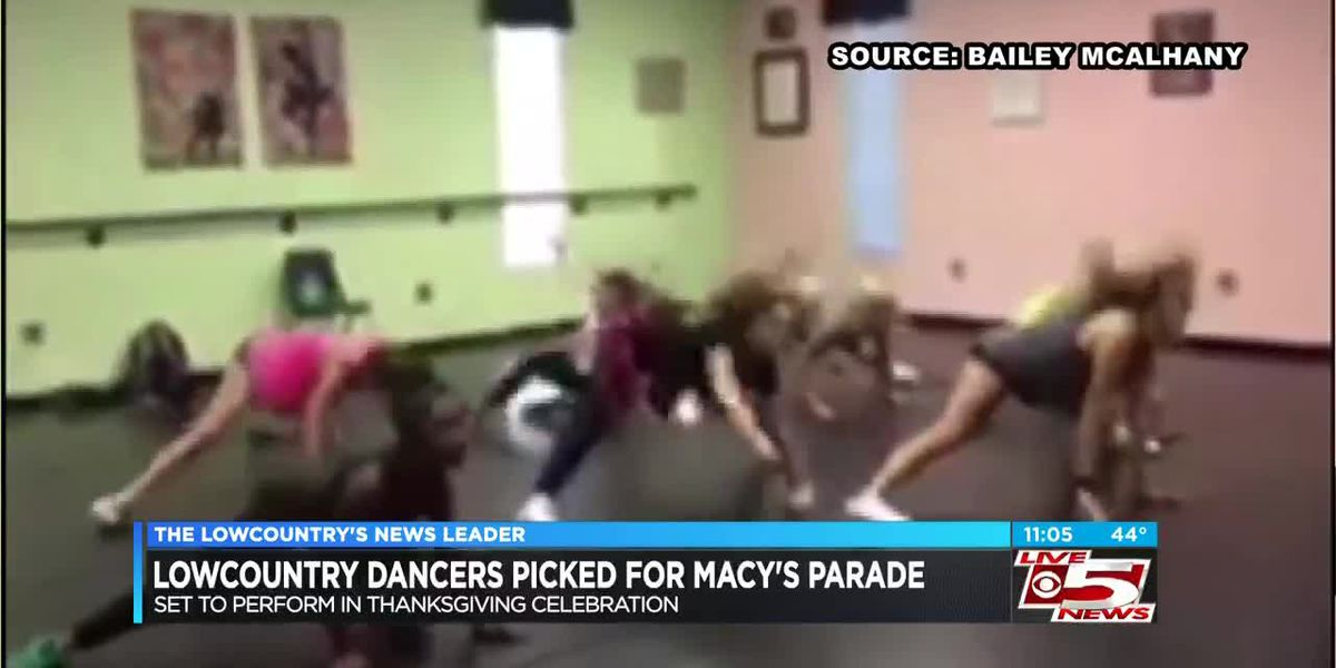 Group from Lowcountry dance studio to perform in Macy's Thanksgiving Day parade