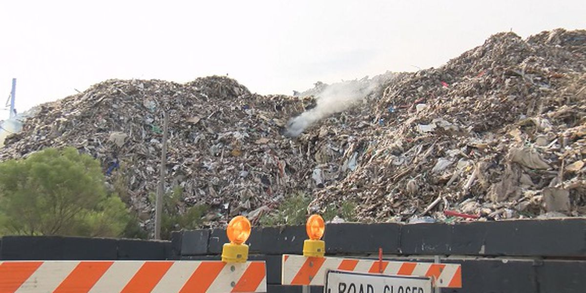 Low level of potentially deadly gas detected near burning trash pile in Jasper Co.