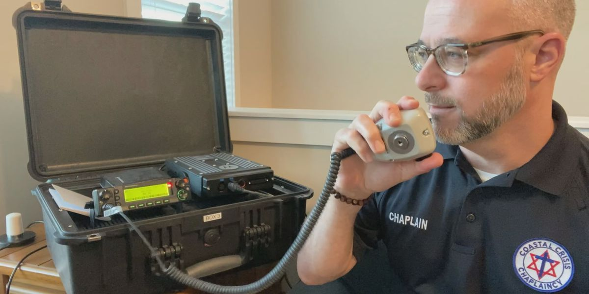 Chaplains offer virtual care to first responders through radio broadcasts