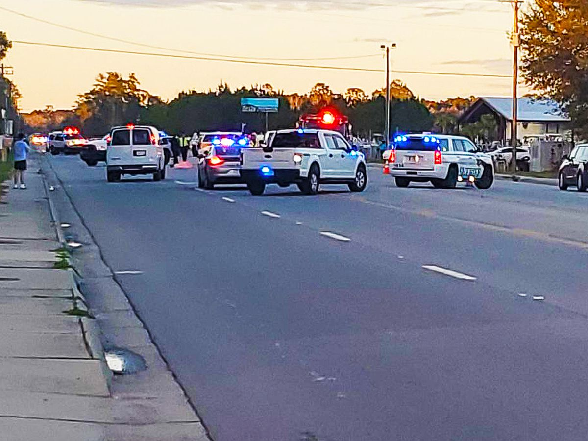 Troopers: Pedestrian in the roadway fatally struck by SUV in Moncks Corner