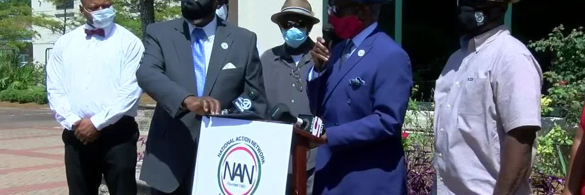 RAW VIDEO: National Action Network holds news conference on JUSTICE Act