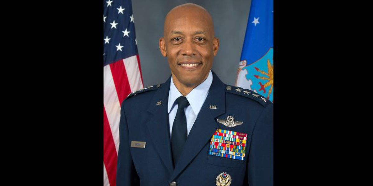 Senate confirms Air Force general as first African-American service chief