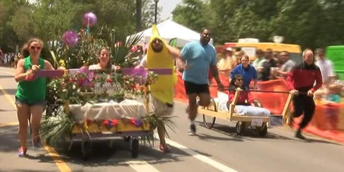 Camp Happy Days Hosts Annual Bed Race