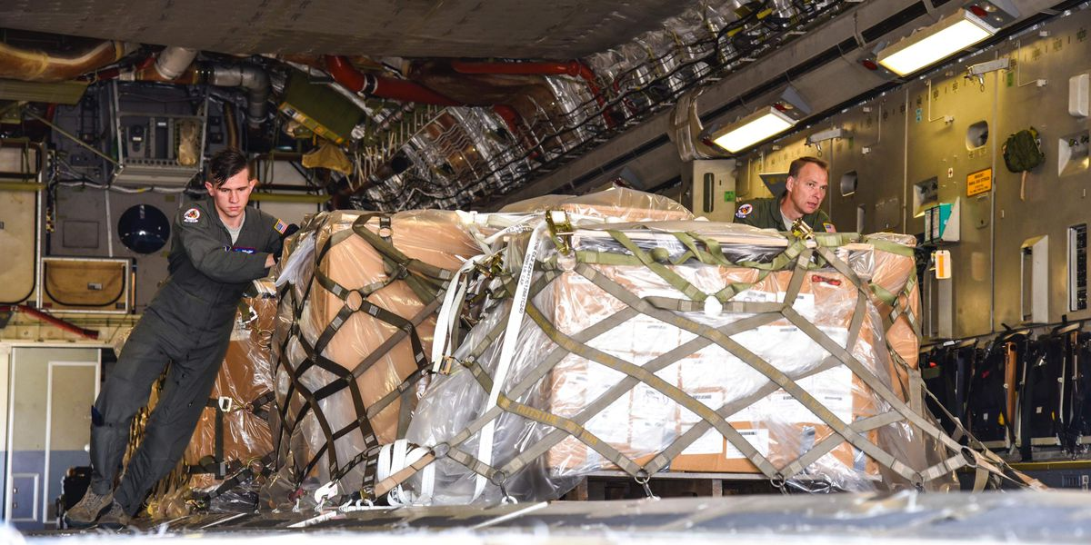 Charleston area reservists delivered 8,000 lbs supplies to Guatemala for fire and rescue personnel