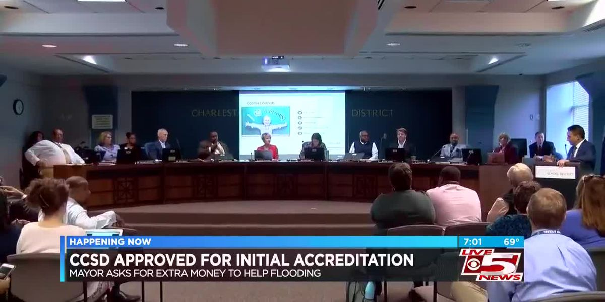 CCSD receives district accreditation; accreditor says district 'needs some work'