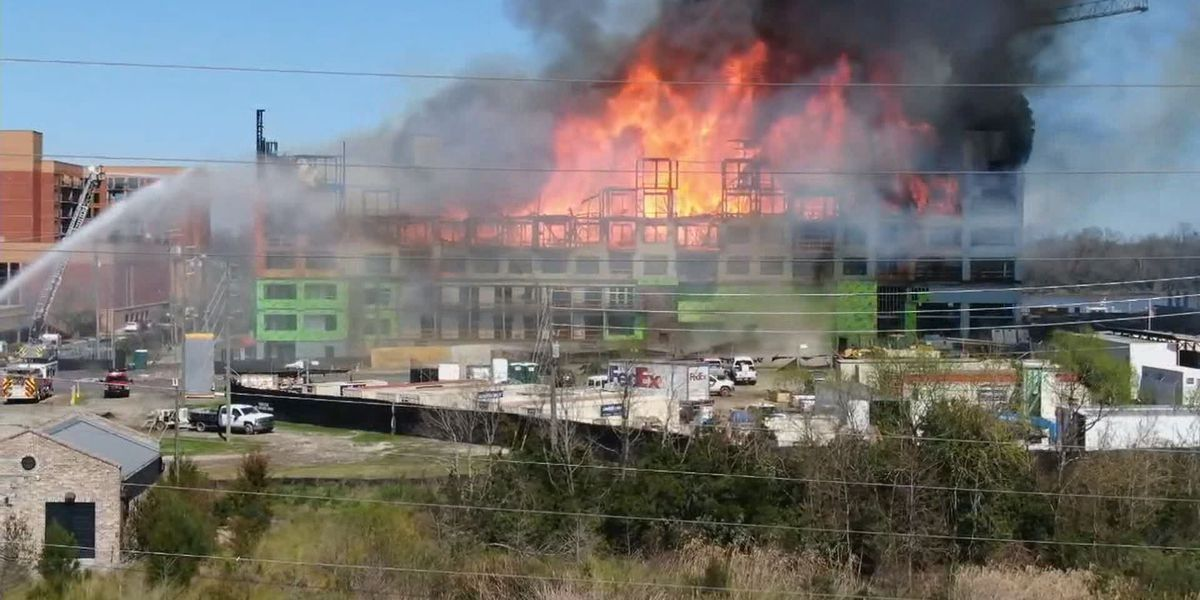 Savannah city officials say no injuries reported in Eastern Wharf Project fire