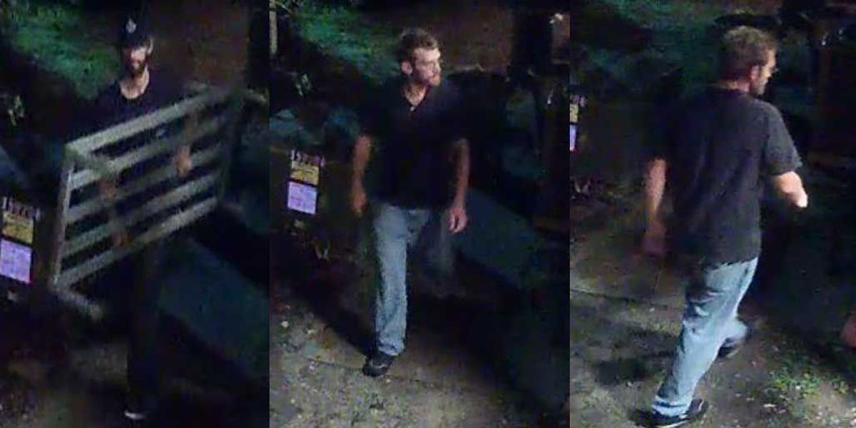 Suspects sought for stealing shelf from Mt. Pleasant restaurant