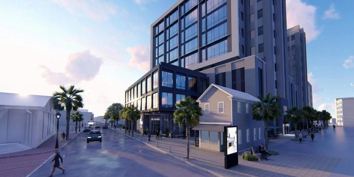 Eight-story building proposed for downtown Charleston