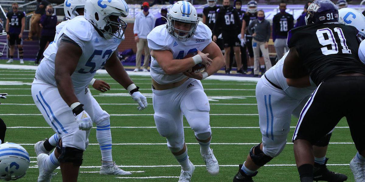 The Citadel drops 2nd spring football game at Western Carolina