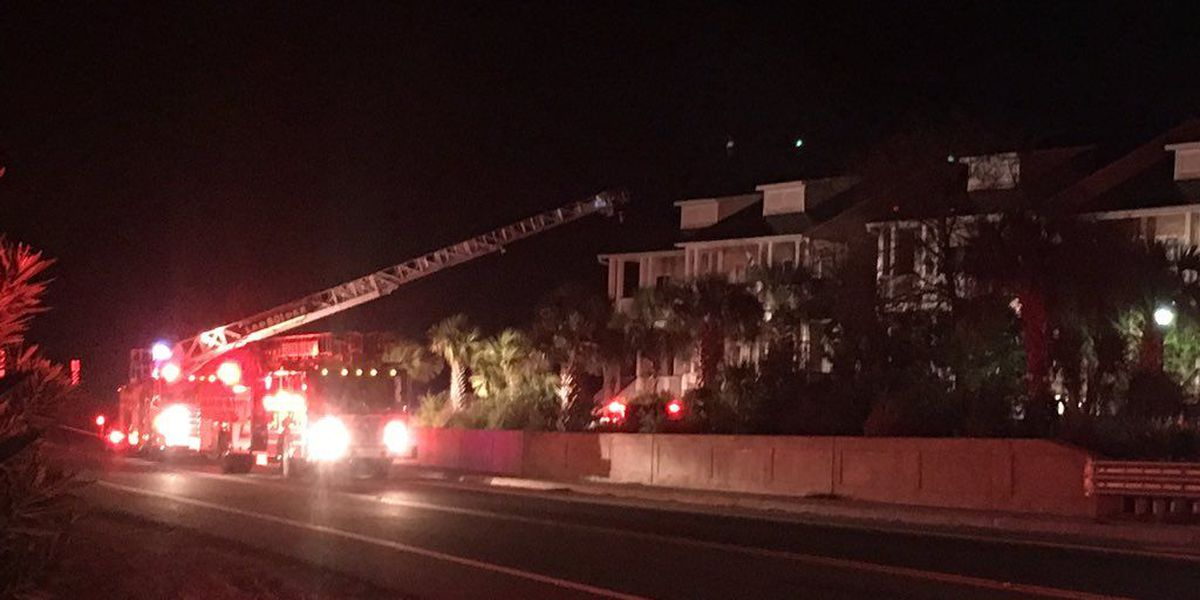 Fire causes thousands in damage to Folly Beach home