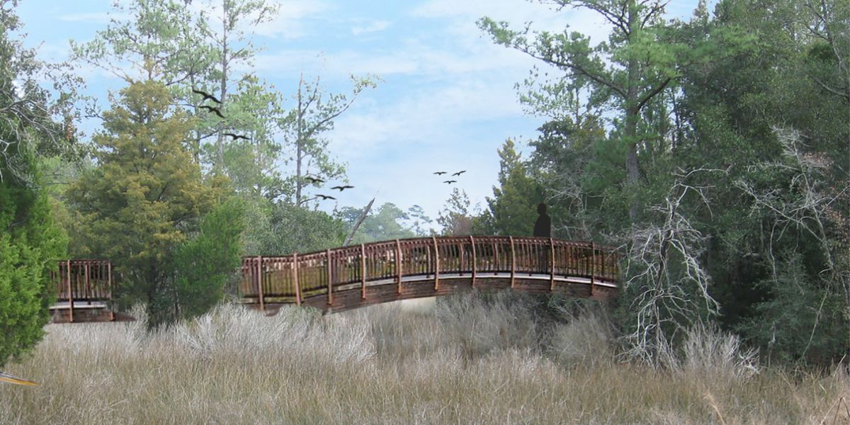 You Paid For It: Construction to start soon on new pedestrian bridge in McClellanville