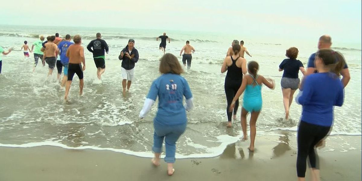 Lowcountry 'Polar Plunges' provide chilly start to new year