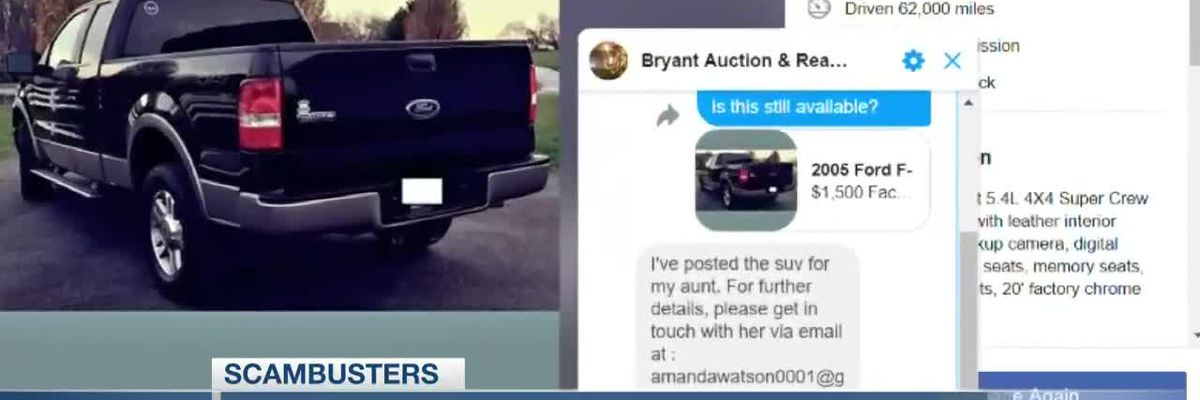 VIDEO: Live 5 Scambusters: Fake cars for sale