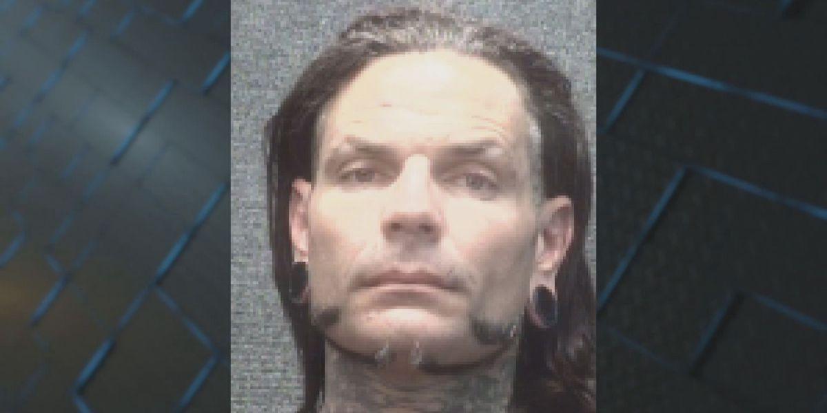 Professional wrestler Jeff Hardy arrested in Myrtle Beach
