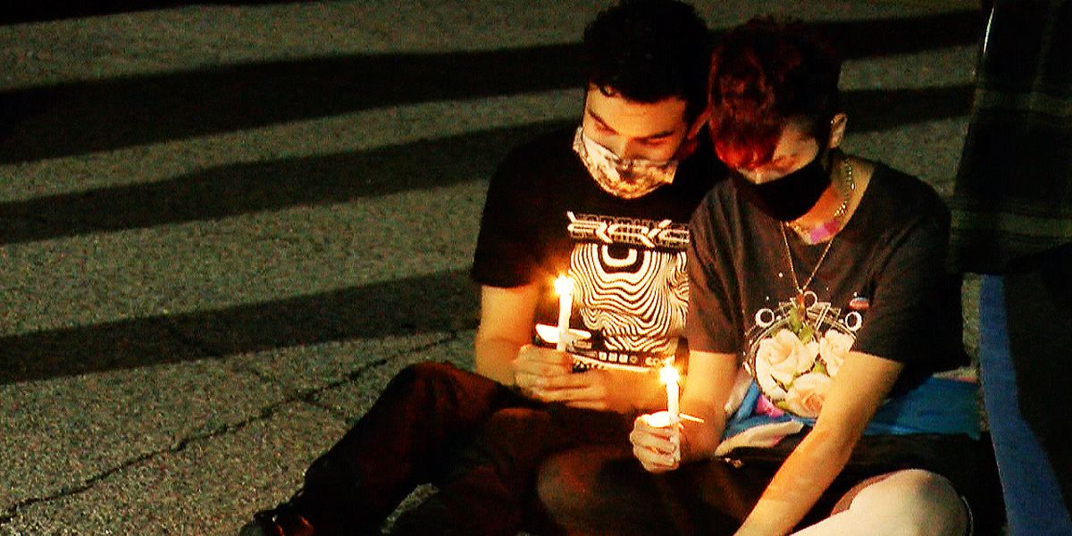 Local LGBTQ groups hold Transgender Day of Remembrance vigil