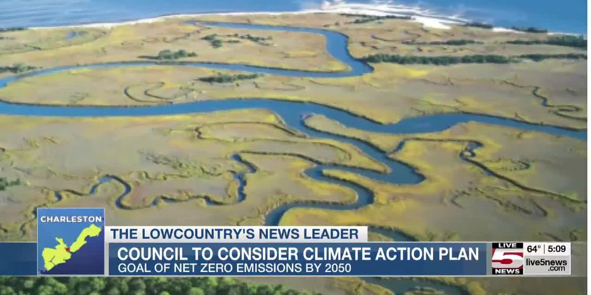 VIDEO: Charleston City Council to take up climate action plan