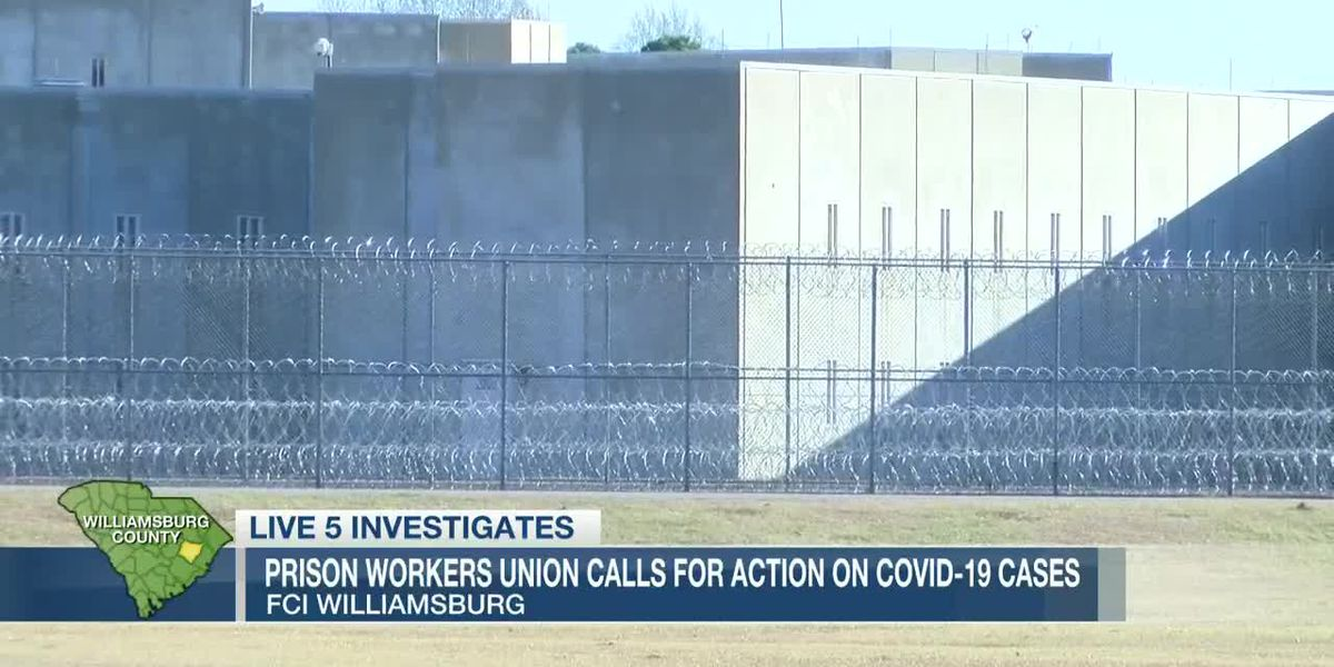 VIDEO: Prison workers union calls for action on COVID at Williamsburg facility