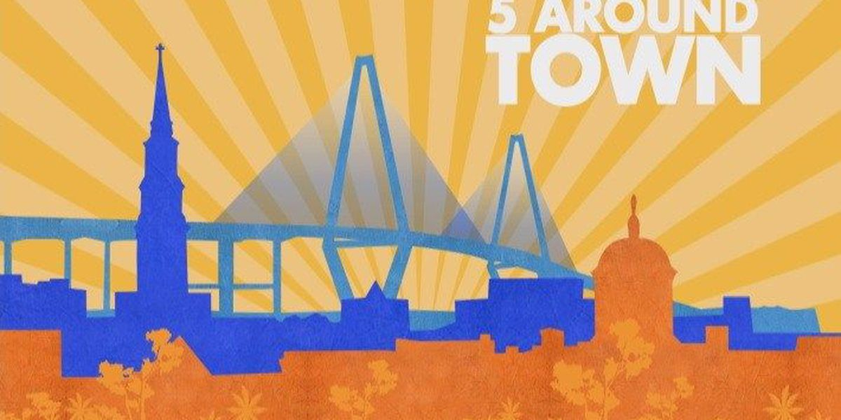 Sample the best of Charleston's Food and Waterways in this week's 5 Around Town