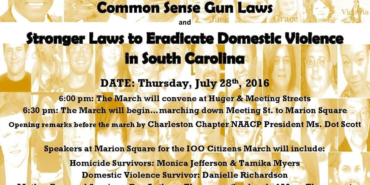 March for 'common sense gun laws' being organized by Lowcountry official, activists