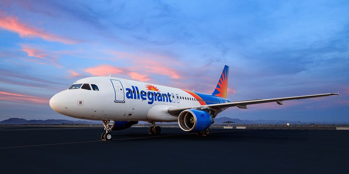 Allegiant announces new nonstop service from Charleston to Louisville