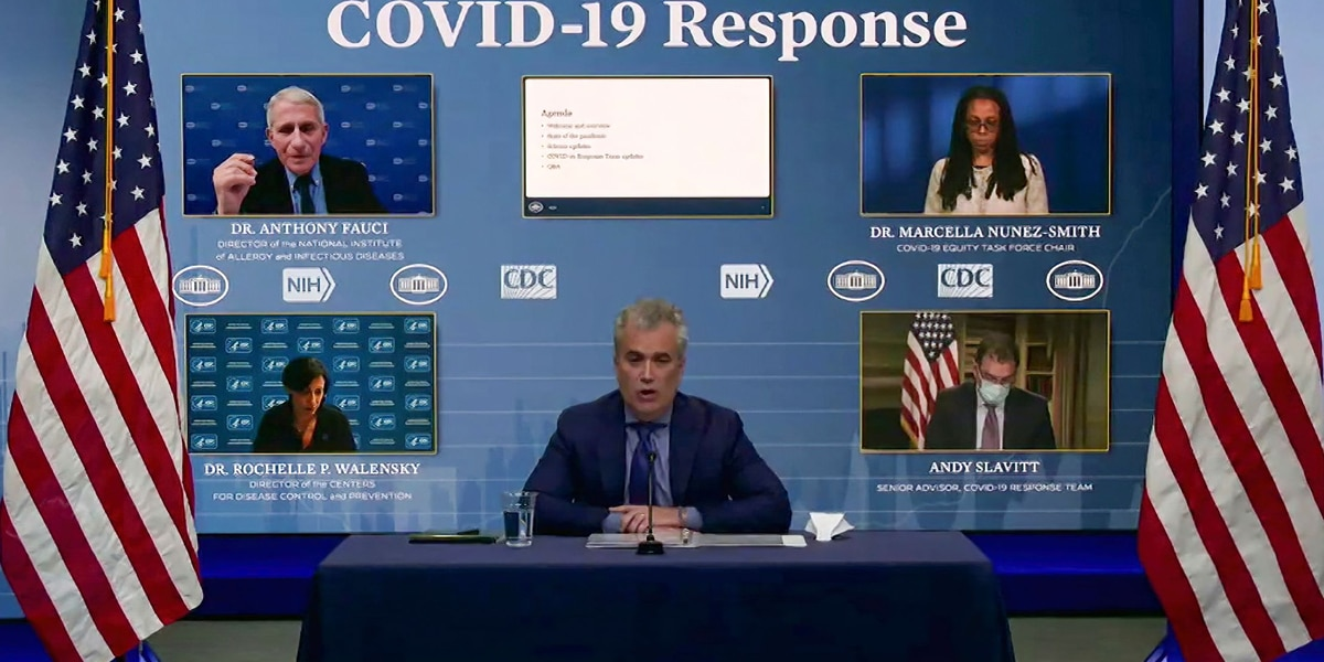 LIVE: White House COVID-19 response team briefing