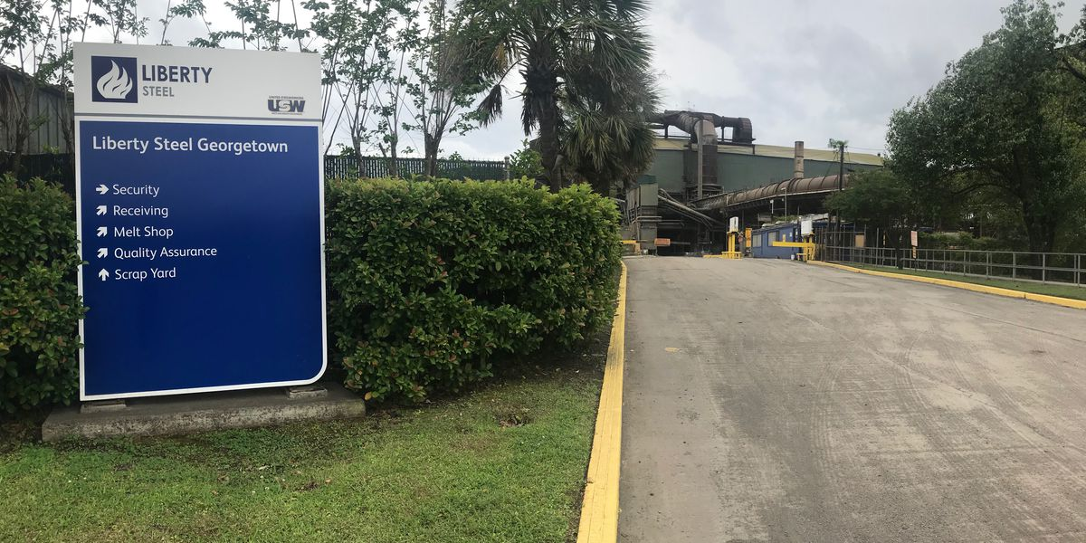 Georgetown County steel plant notifies employees of end-of-year layoffs