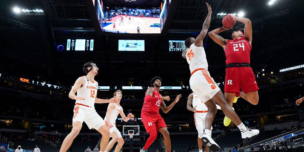 Clemson falls to Rutgers in NCAA Tournament opener