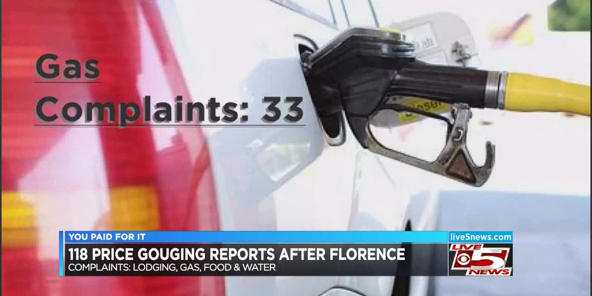 You Paid For It: More than 100 price gouging complaints in SC so far