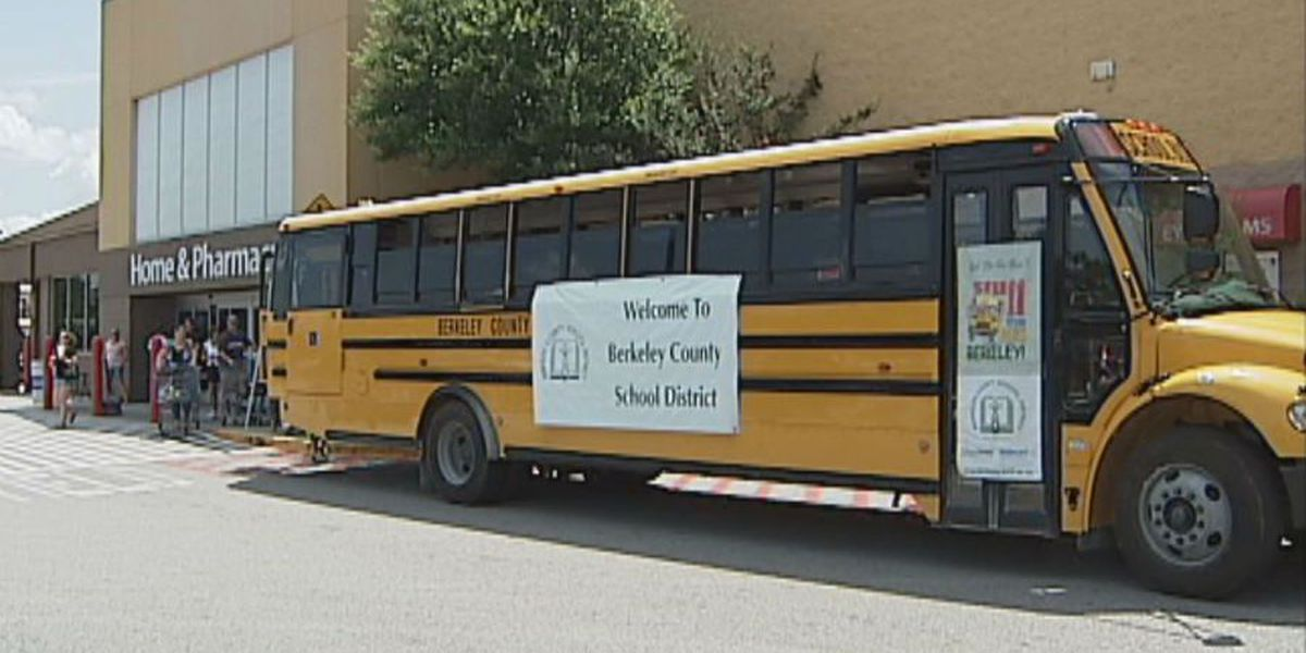 Berkeley County residents 'Stuff the Bus' with school supplies