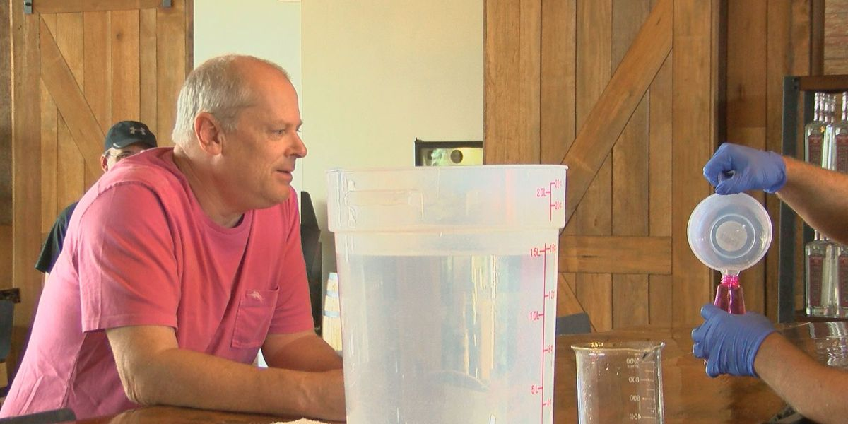 Little River distillery makes hand sanitizer to meet growing hospital needs amid COVID-19 pandemic
