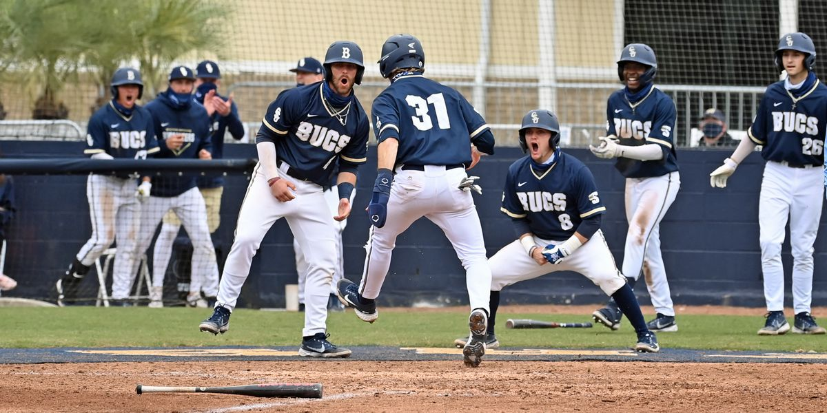 Bucs take the series with Longwood following Saturday's split at Nielsen Field