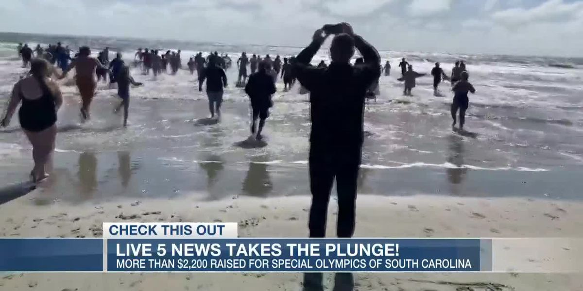 VIDEO: Live 5 News team takes 'polar plunge' for good cause