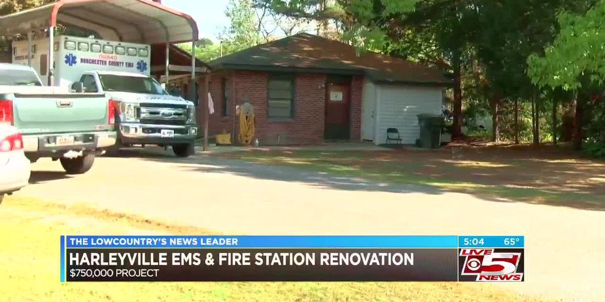 Renovations planned for Harleyville EMS and fire station