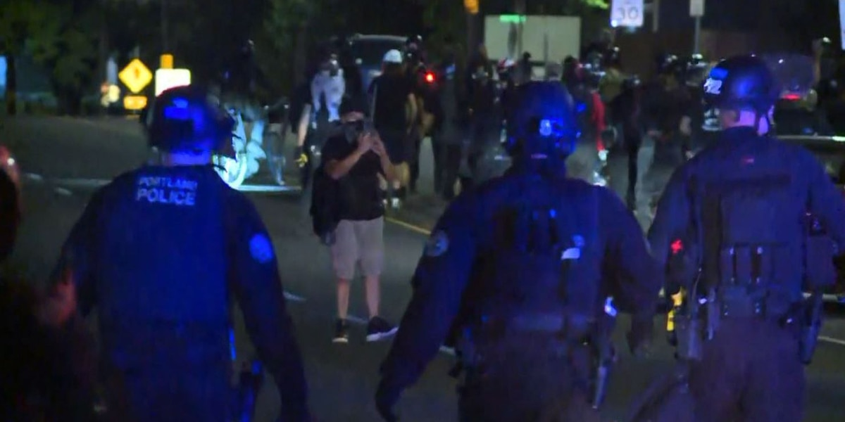Portland police chief: Violent protests need to stop